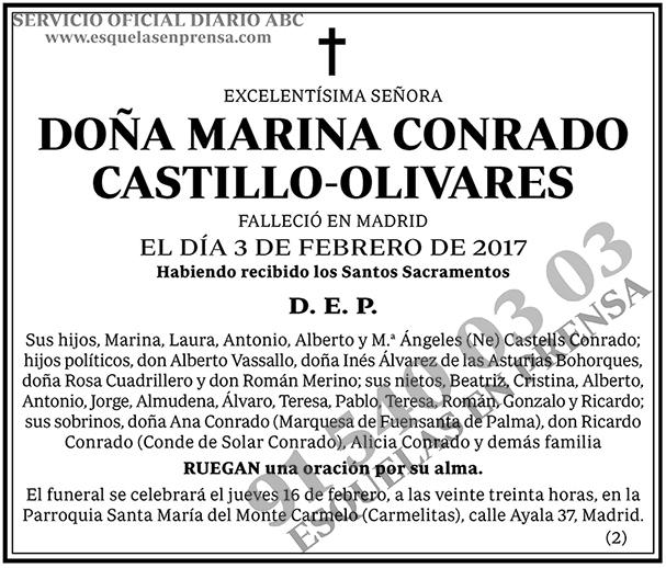Marina Conrado Castillo-Olivares